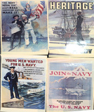 WWI Navy Recruiting Posters Repro
