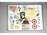 US Military Insignia and Patch Collection