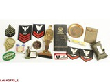 WWI & WWII US Military Souvenirs Insignia
