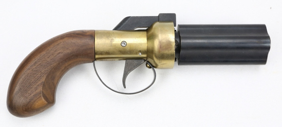 Ethan Allen CMC Pepperbox Percussion Pistol