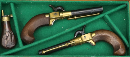 Pair of CMC Percussion Dueling Pistols