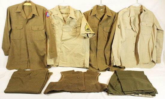 WWII Uniform Grouping