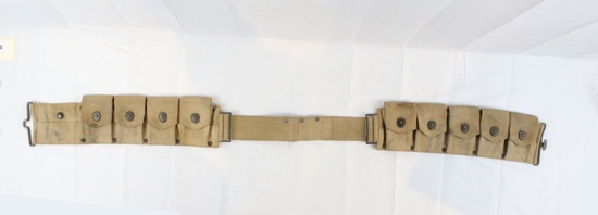 WWI Cavalry Ammunition Belt