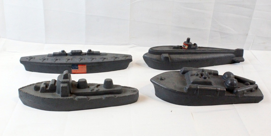 Original WWII US Military Training Boats