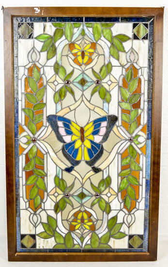 Stained Leaded Glass Window