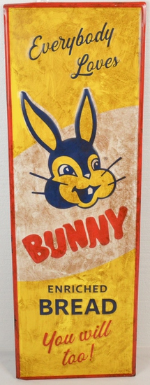 Bunny Bread Sign