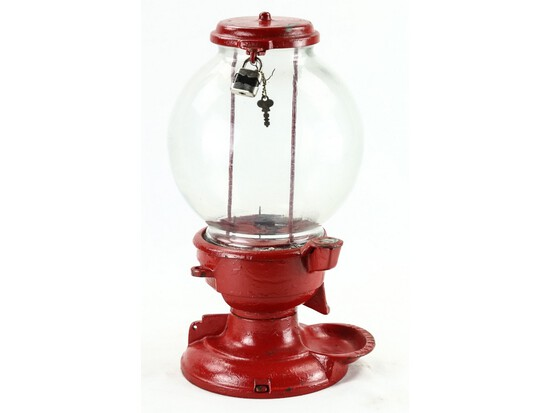 Columbus Cast Iron Gumball Machine