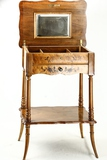 Antique Sewing Table w/Inlayed Mother of Pearl