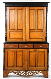 1880's Anglo Indian Rosewood Hutch