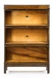 1900's Hale Walnut 3-Stack Bookcase