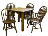 Tavern/Saloon Card Table with 4 Chairs