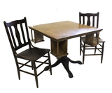 Tavern/Saloon Card Table with 2 Chairs
