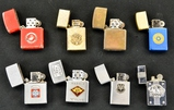 Lot of 8 Military Lighters