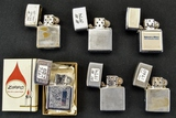 B & W Construction and Misc Zippo Lighters