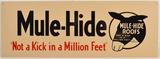 Mule Hide Sign