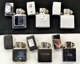 Lot of 6 Early 2000's Zippo Lighters