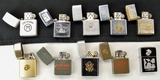 Lot of 10 Misc. Military Lighters