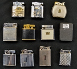 Lot of 12 Misc. Lighters