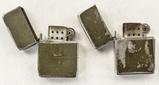 Lot of 2 USMC Park Sherman Lighters