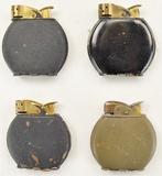 4 Evans Spitfire Lighters
