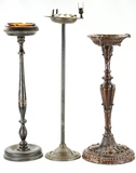 Lot of 3 Ashtray Stands