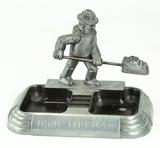 Vintage Iron Fireman Cast Iron Ashtray