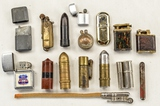 Vintage Lift Arm, Trench Art & Misc Lighters (16)
