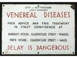 Nottingham Health Dpt Venereal Disease Sign