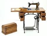 1888 Wheeler & Wilson #9 Oak Sewing Machine