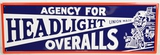 Headlight Overall Sign