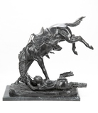 Bronze 'Wicked Pony' Sculpture
