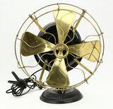 1899 General Electric Type UI Form E7 Pancake Fan