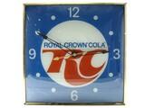 RC Cola Light Up Clock