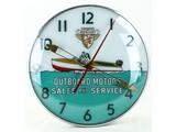 Mercury Outboard Motors Light Up Clock