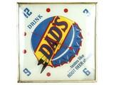 Dad's Root Beer Clock