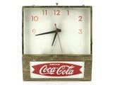 Coca Cola Light Up Clock