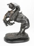 Bronze 'Rattlesnake' Sculpture