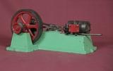 Vintage Small Steam Engine Model
