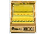Hanson Drill Bit Hardware Display
