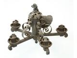 Spanish Style Iron Chandelier