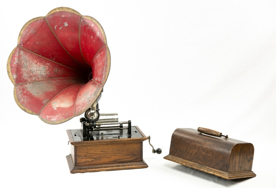 Columbia Type BKT Cylinder Phonograph