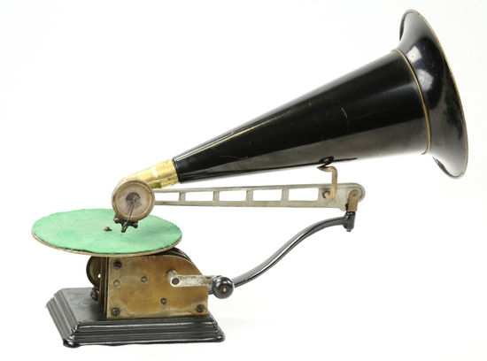 Columbia Type AU Open Works Disc Phonograph