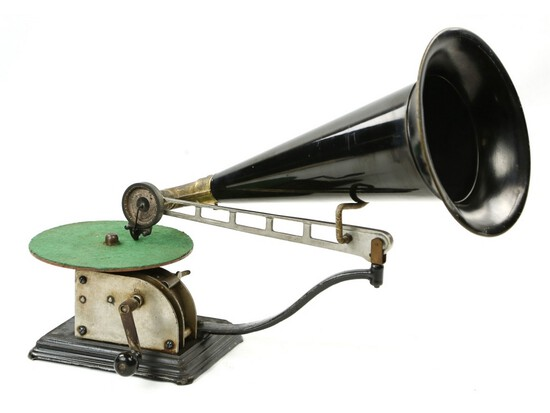 Columbia Type AA Open Works Disc Phonograph