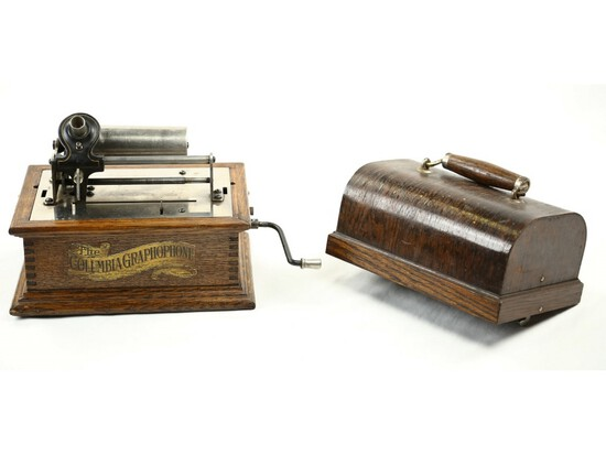 Columbia Type BV Cylinder Phonograph