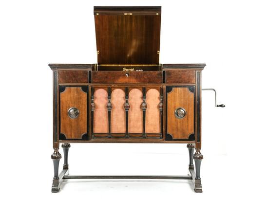 Brunswick Model T Console Phonograph