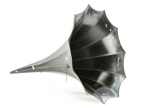 TTC Cylinder Phonograph Horn