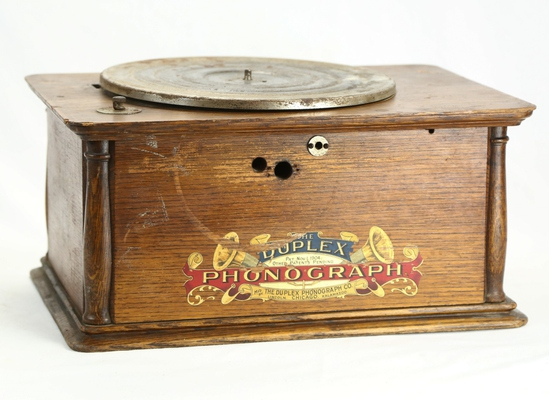 Duplex Disc Phonograph Cabinet