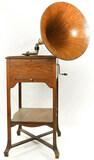 Victor XXV Schoolhouse Disc Phonograph