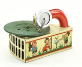 Leonhard Müller Toy Phonograph