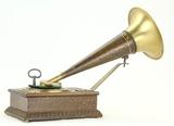 RARE 1904 Stollwerck Toy Phonograph